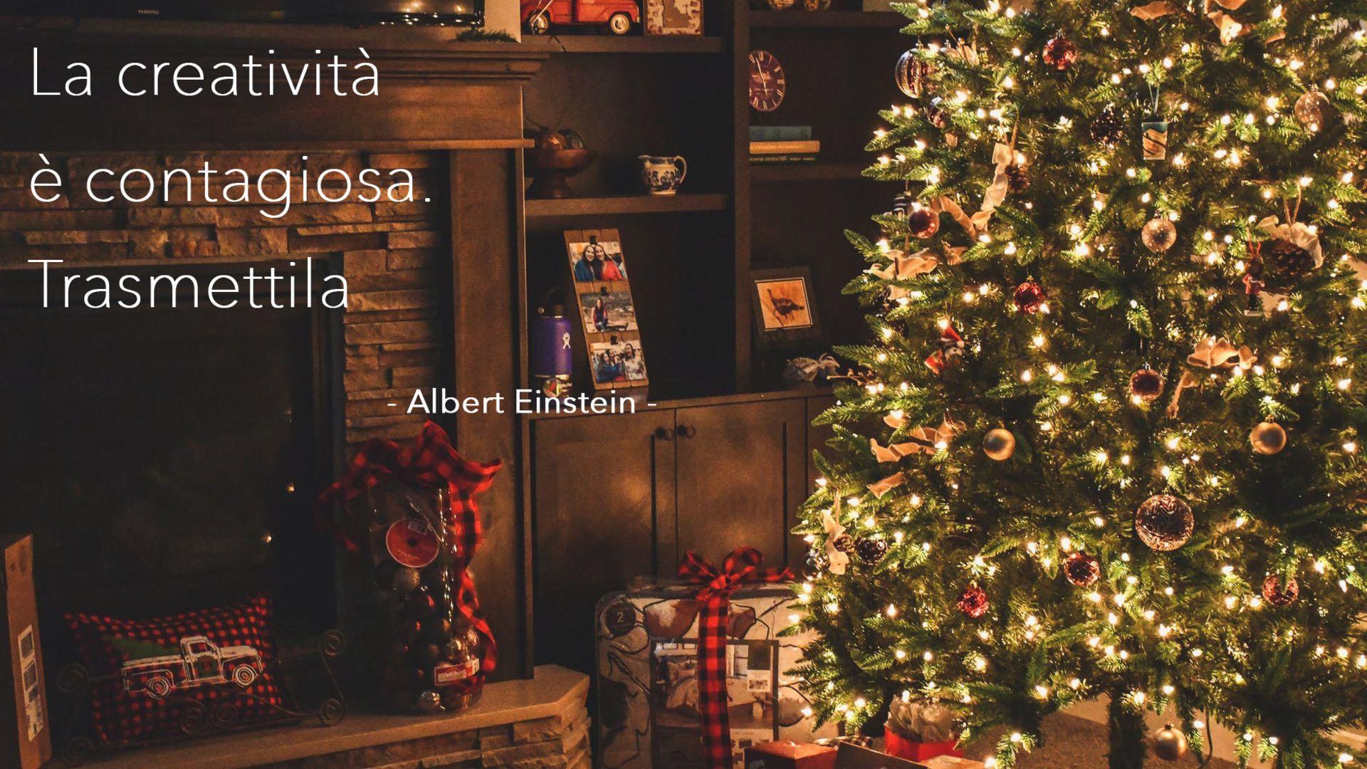 camino ed albero di Natale